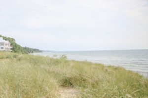 South beach in South Haven, Michigan