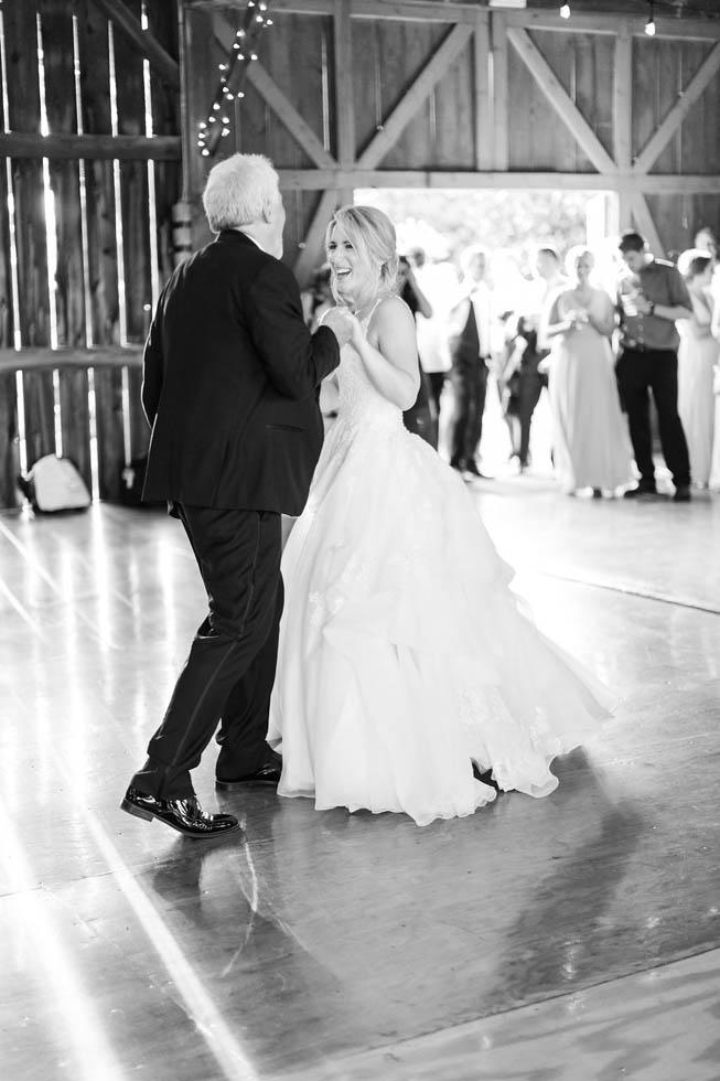 Dancing at barn wedding venue Northern Michigan