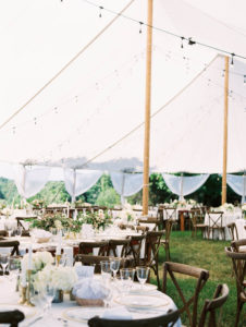 Ciccone Vineyard wedding tent
