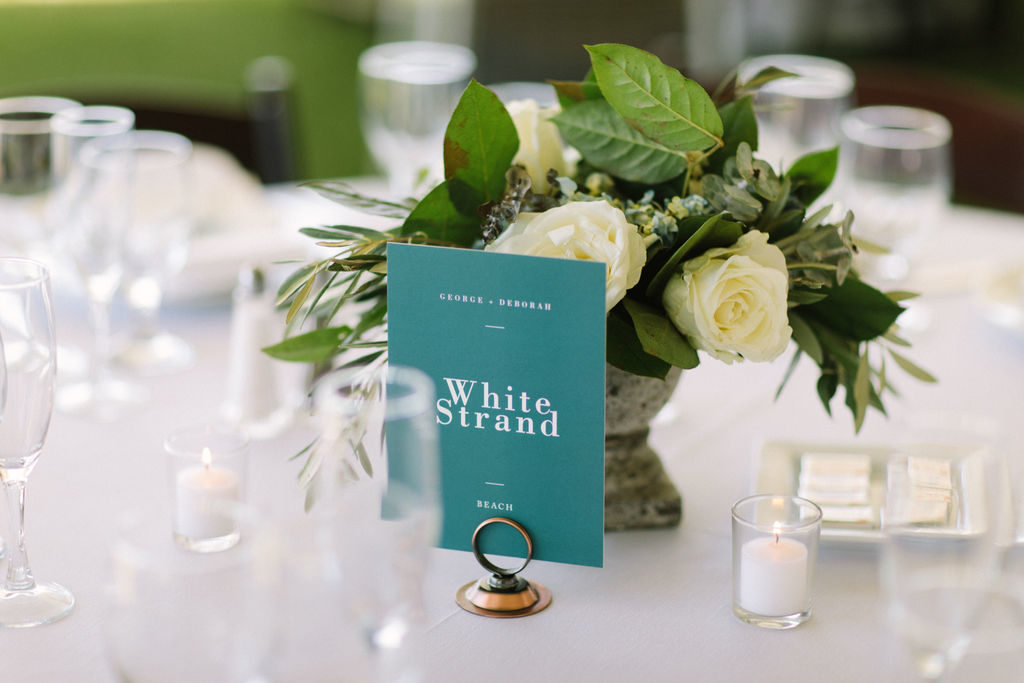 Table number named after Australian beach