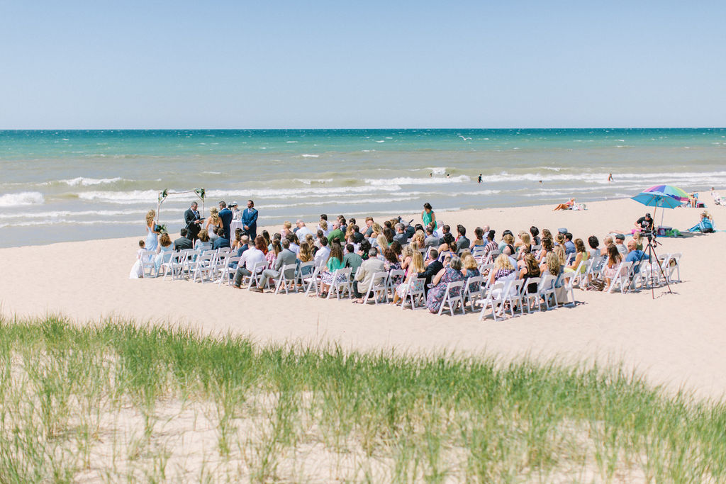 Beach Weddings In Michigan