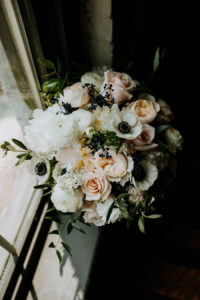 Bridal bouquet at a Journeyman Distillery wedding