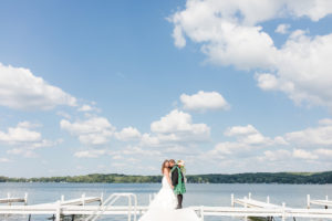 Wedding at Bay Pointe Inn near Grand Rapids, MI