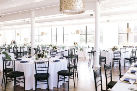 A loft 310 wedding set up