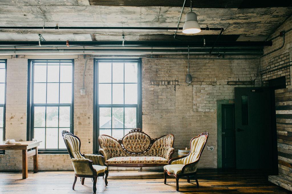 Vintage wedding furniture