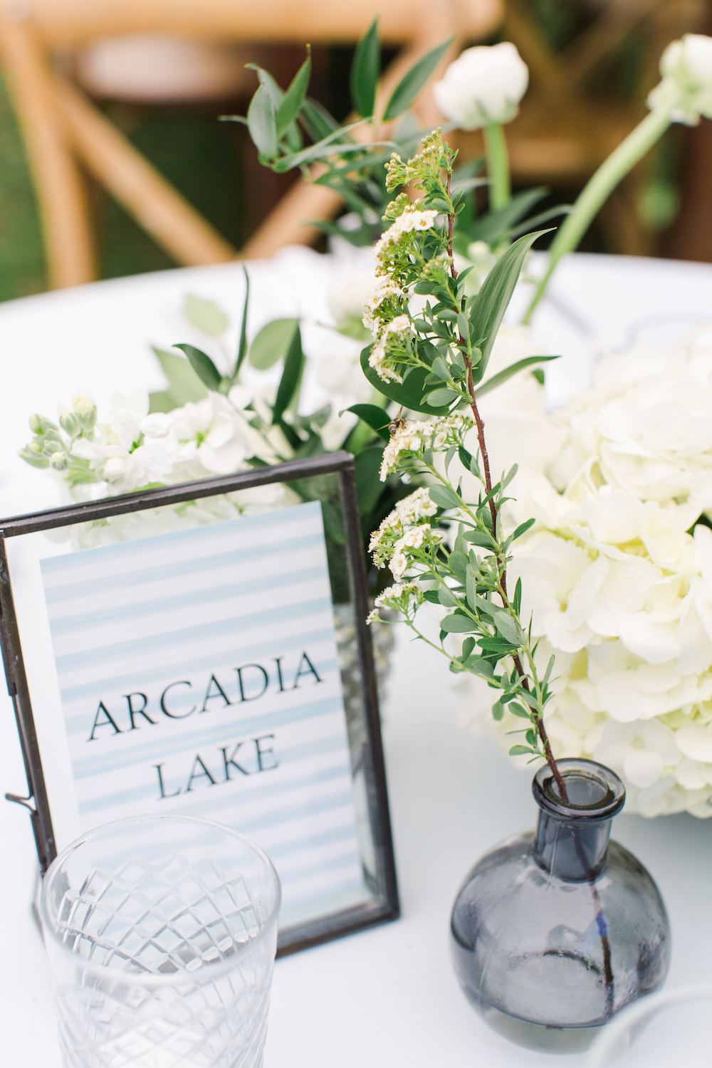 Table numbers and arrangements