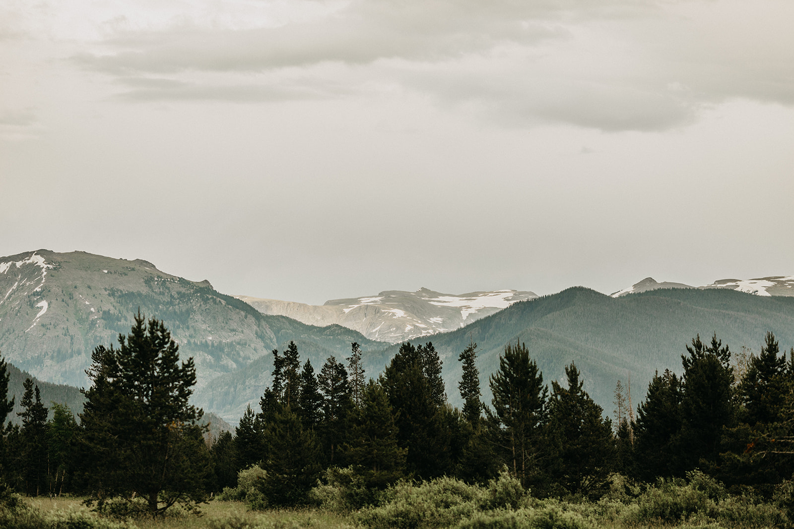 Rocky Mountain national park wedding