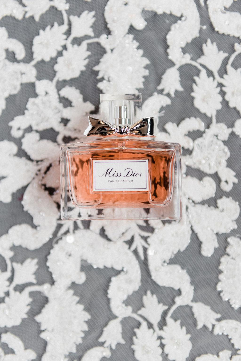 A bride's perfume