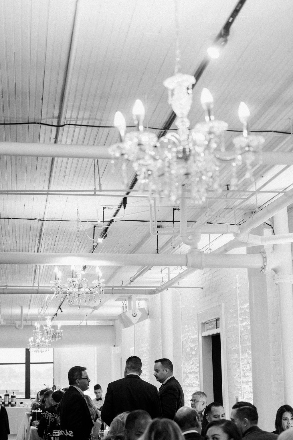 Loft 310 wedding lighting