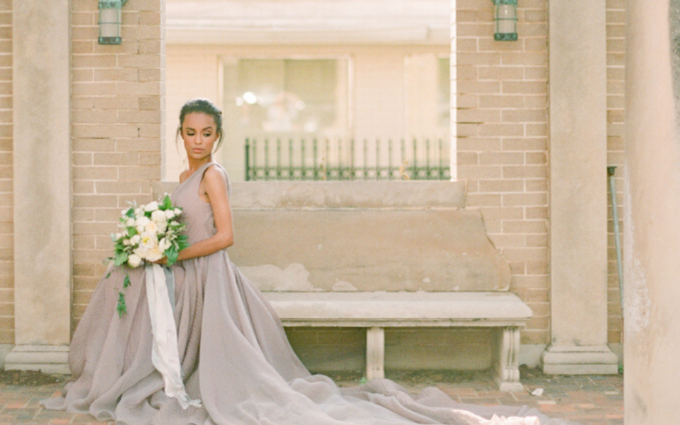Bride enjoying her Oklahoma city wedding