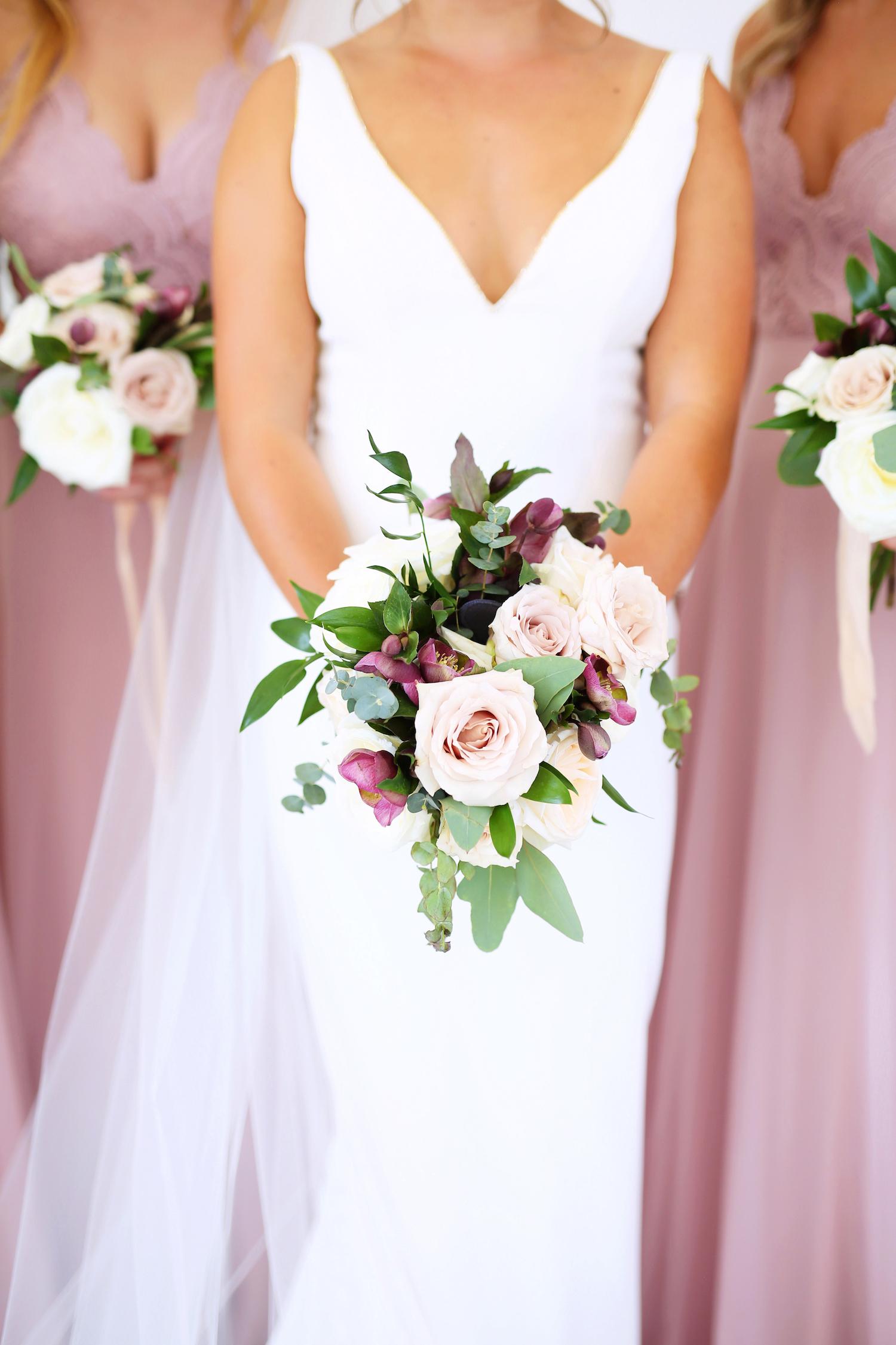 Bridal bouquet for Kalamazoo Michigan wedding