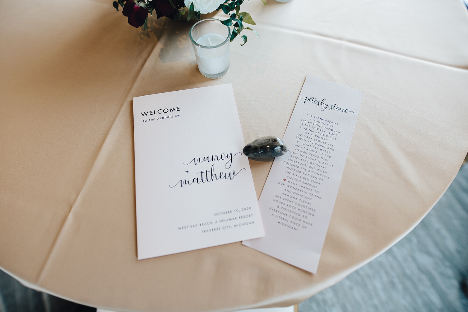 Stationaries for West Bay Beach wedding