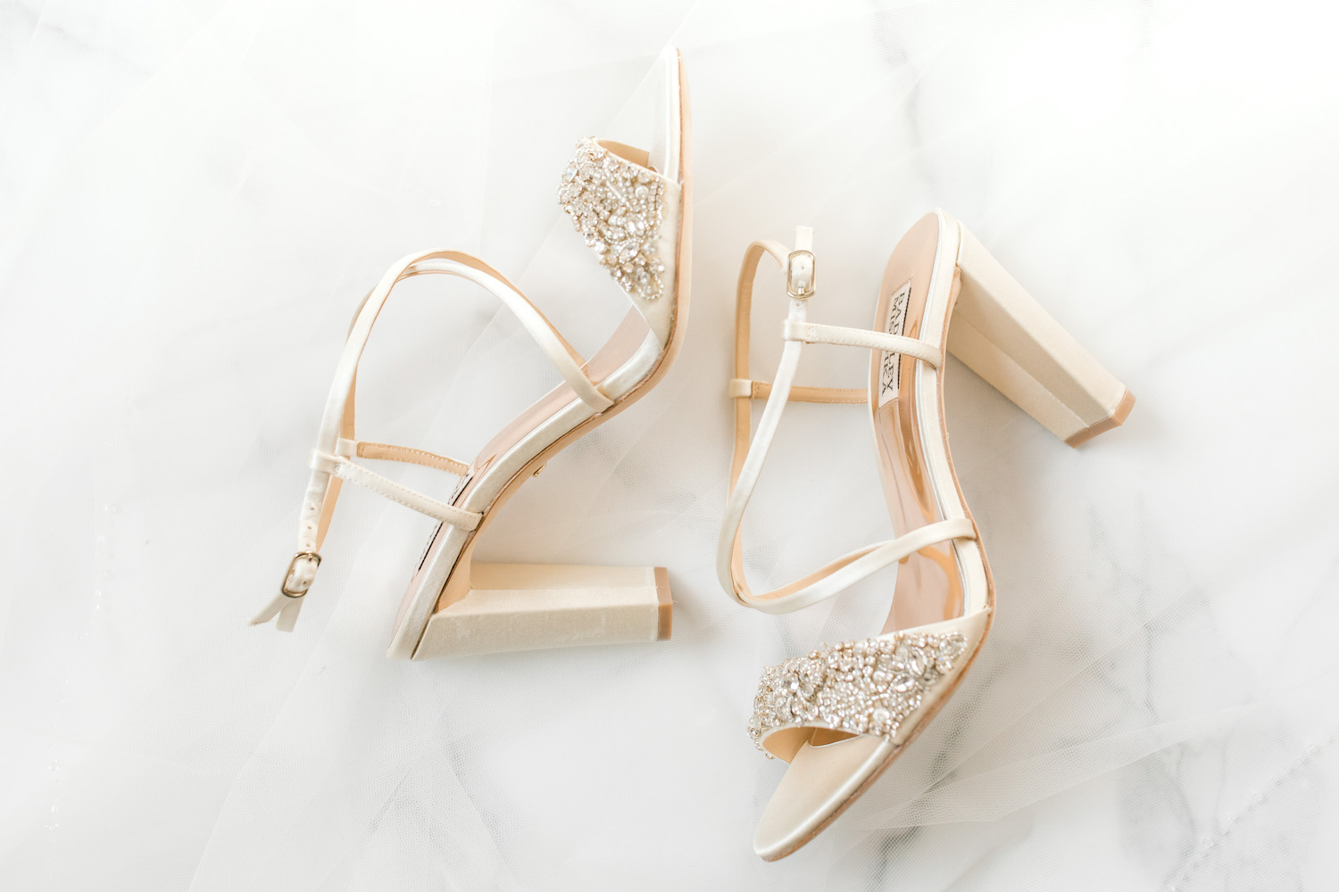 Brides shoes for her City Flats Hotel wedding