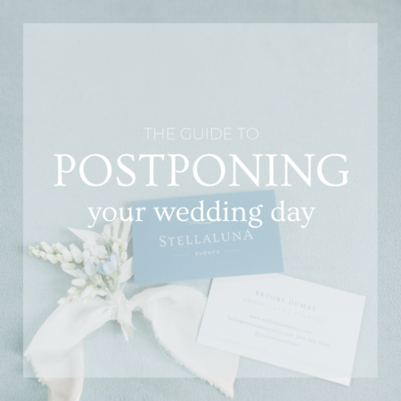 How to postpone a wedding day
